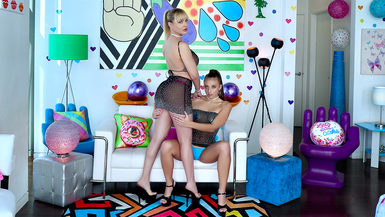 Dana And Gia Go All Out Nasty
